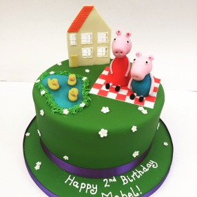Peppa and George Picnic